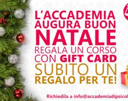 GIFT CARD APSG, IL TUO REGALO DI NATALE!