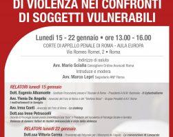 Corso Breve sui Reati di Violenza nei confronti di Soggetti Vulnerabili
